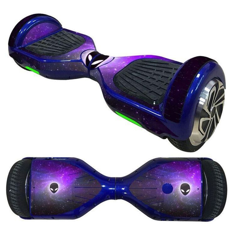 Alienware wallpaper overboard hoverboard 6,5 inch decal skin Self Balancing Scooter