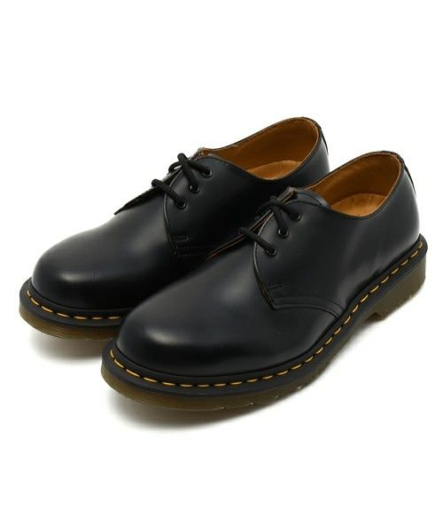 Dr.Martens(ドクターマーチン)の「Dr.Martens ドクターマーチン 1461Z 3EYE GIBSON SHOE 3ホール ギブソン シューズ 11838002 BLACK(ブーツ)」 - WEAR