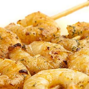 Popcorn garlic shrimp. Recipe is appropriate for ALL 4 Phases of the