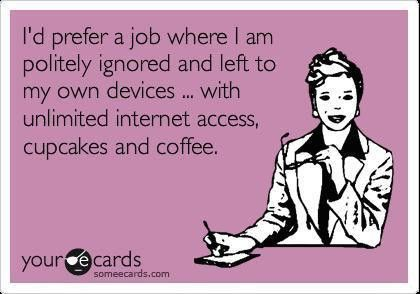 I make my own cupcakes and coffee, but otherwise....