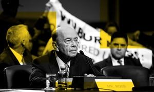 Wilbur Ross stands to profit from company run by Russians, some of whom are under US sanctions