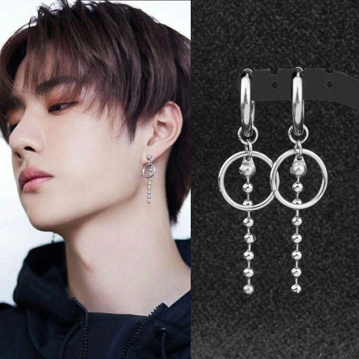 Double Helix Kpop Ear Piercings Aretes Disenos De Joyeria Accesorios De Joyeria