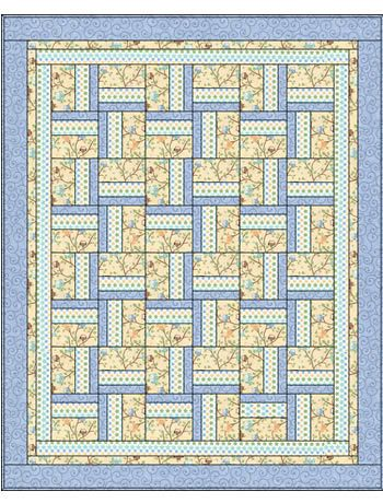 Quilt Patterns With 3 Fabrics : 100+ best images about 3 yd / 3 Fabric Quilts on Pinterest Pink blue, Quilt and Windmills