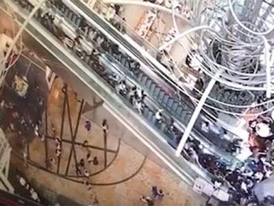 BCDigital: Escalera eléctrica causa 'avalancha humana' en Hon...