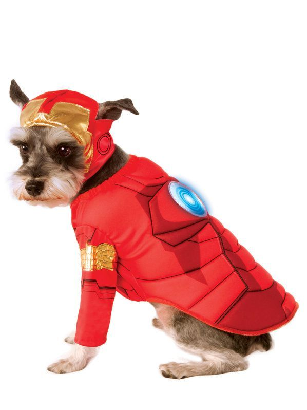 Iron Man Pet Costume Deluxe Man Dog Pet Costumes Dog Costumes