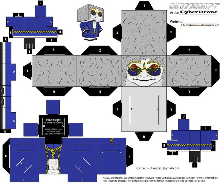 Cubee - Clockwork Droid 'Ver1' by CyberDrone on DeviantArt