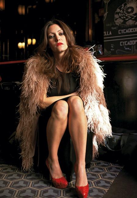 Karole Rocher, lumineuse rockeuse