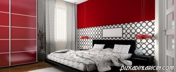 Kırmızı Yatak Odası Resimleri - http://www.bizkadinlaricin.com/kirmizi-yatak-odasi-resimleri.html  Yatak odası arayışı içine girdiyseniz ve yatak odanızı renkli bir şekilde döşemek istiyorsanız, kırmızı rengi tercih edebilirsiniz. Kırmızı yatak odası 2015 resim galerimizde bu renge ait yatak odalarına yer verdik. Renklerin insan psikolojisi üzerinde etkileri büyüktür. Kırmızı uyarıcıdır, enerji verir, fakat odada kırmızının yoğun kullan