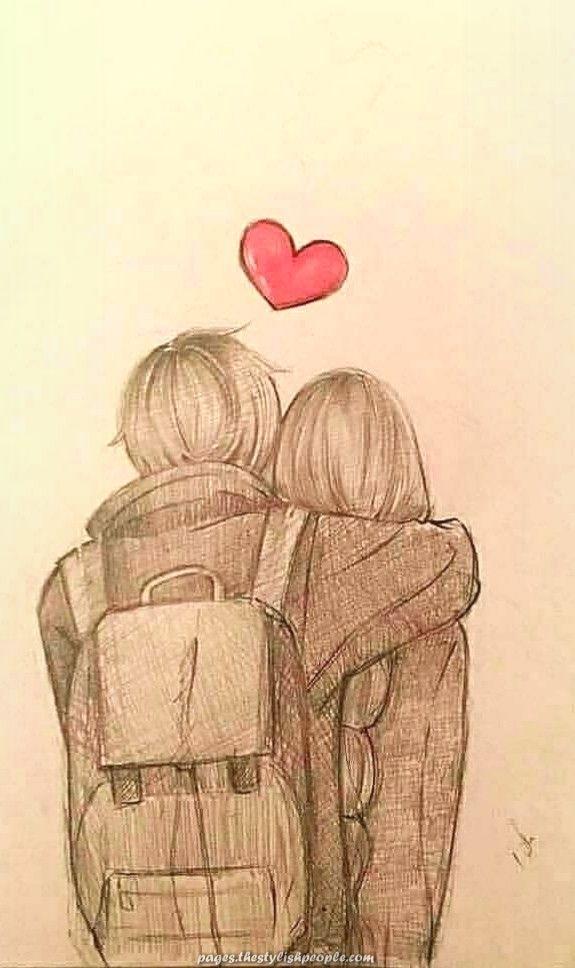 Fantastic Anime Draw Hug Drawings Artwork Anime Drawings Sketches Cute Couple Drawings Art Drawings