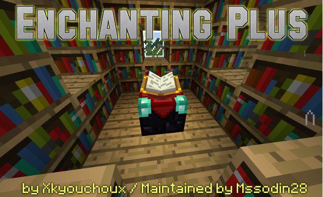 Enchanting Plus Mod 1 6 4 1 6 2 1 5 2 Minecraft