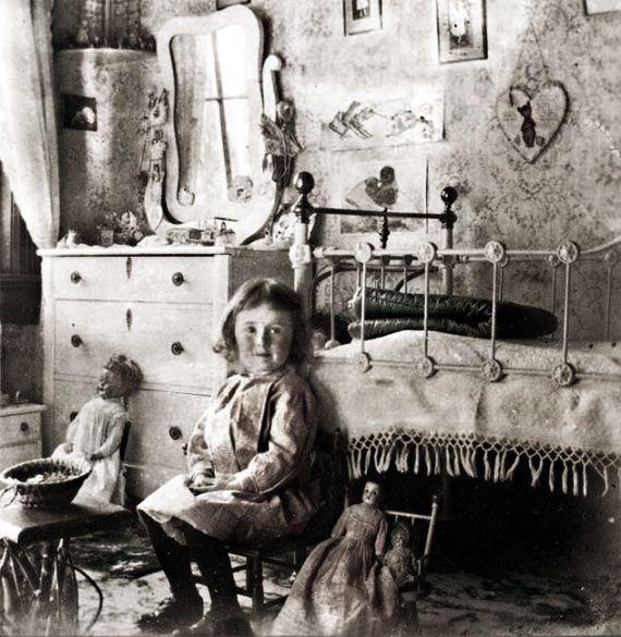 nursery interior ... c. 1905