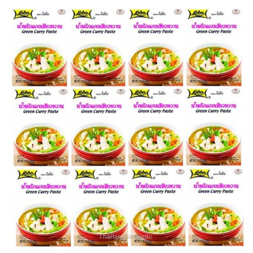 12x50g Lobo Green Curry Paste Thai Soup Recipe Menu Flavor Spicy Instant Food  Price:US $24.99  http://www.ebay.com/itm/152117833630  #ebay #Thailandfantastic #Paypal #Lobo #Green #Curry #Paste #Thai #Soup #Recipe #Menu #Flavor #Spicy #Instant #Food #Home #Garden #Beverages #Spices #Seasonings #Extracts