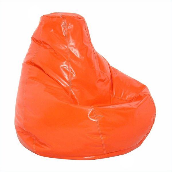 Oversized Orange Bean Bag Chair | TentyardFurniture|Bean Bag Chairs…orange oversized bean bag, oversized bean bag, oversized bean bag chair.
