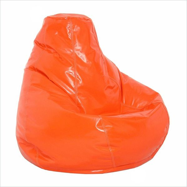 oversized orange bean bag chair tentyard bag oversized bean - Giant Bean Bag Chairs