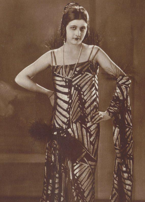 Countess Agnes Esterhazy, Silent Film Star, circa 1920s