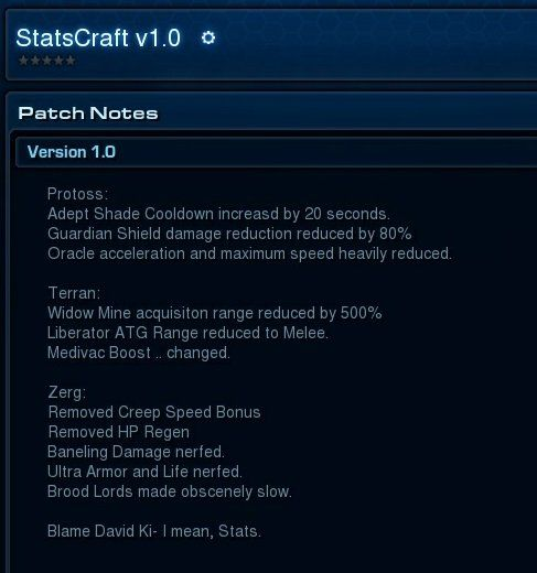 Stats Kim Balance Patch #games #Starcraft #Starcraft2 #SC2 #gamingnews #blizzard
