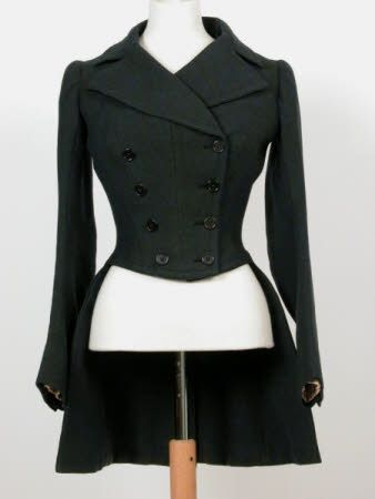 Lady's riding habit coat 1880