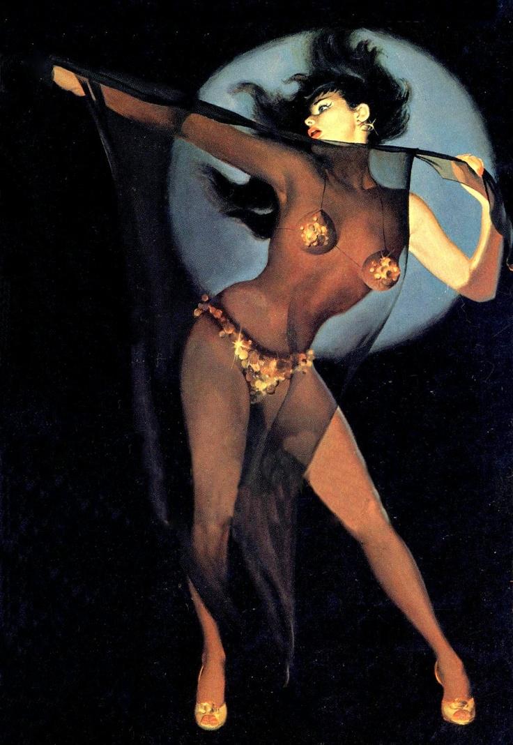 1960; End of a Stripper by Robert Dietrich. Cover art by Freeman Elliot.