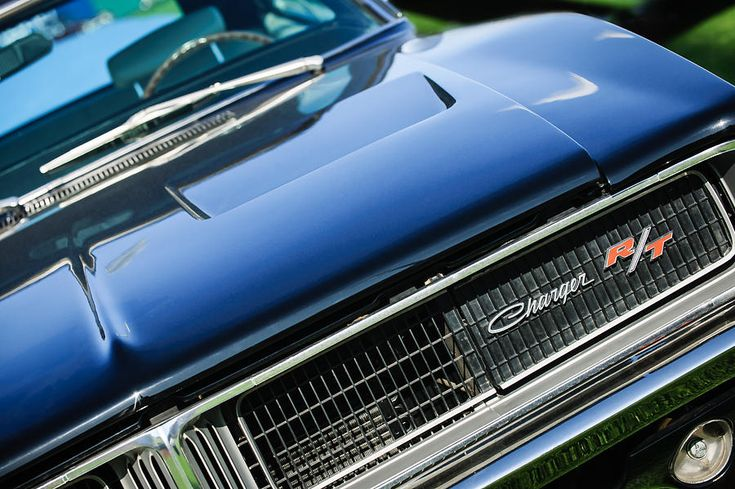 1969 Dodge Charger R-t Emblem Photograph - 1969 Dodge Charger R-t Emblem by Jill Reger