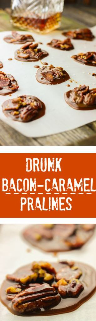 Drunk Bacon-Caramel Pralines | A Hot Southern Mess