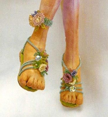 How to fabric sculpt realistic feet