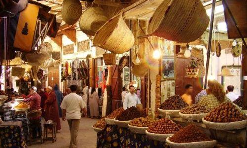 Mercado Tanger, Marruecos