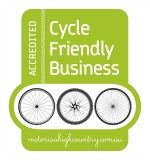 We love cyclists at our market - so much so that we are an accredited Cycle Friendly business