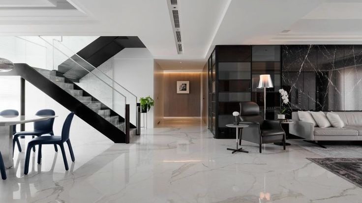 Большой дом в стиле модерн. Расположен в Тайване. Выполнен в современном стиле со всеми необходимыми для проживания вещами.