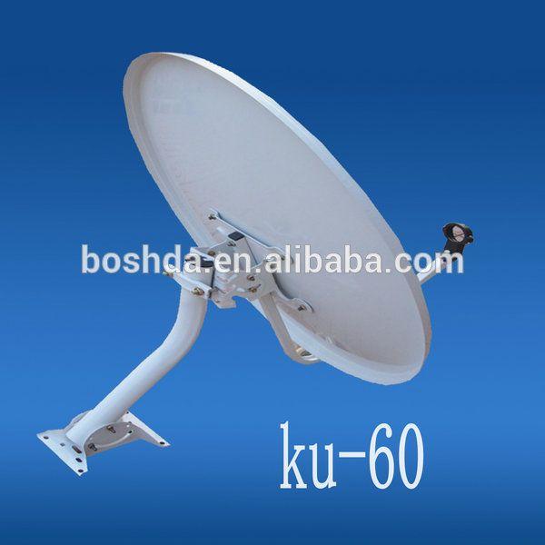 KU band 60cm satellite dish/tv/wifi/car tv/3g/wireless antenna & receiver