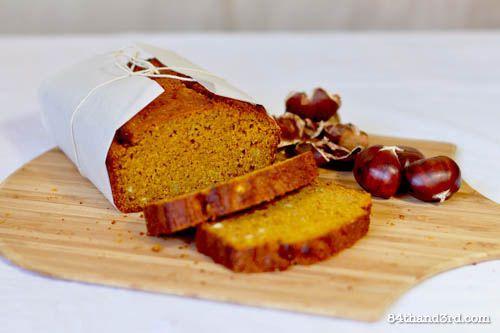 Whole Wheat Pumpkin & Chestnut Bread