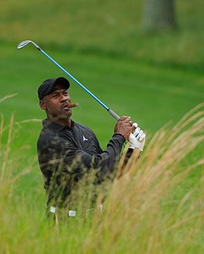 MJ getting up & down for birdie!?! (I'm just being nice!)....lol