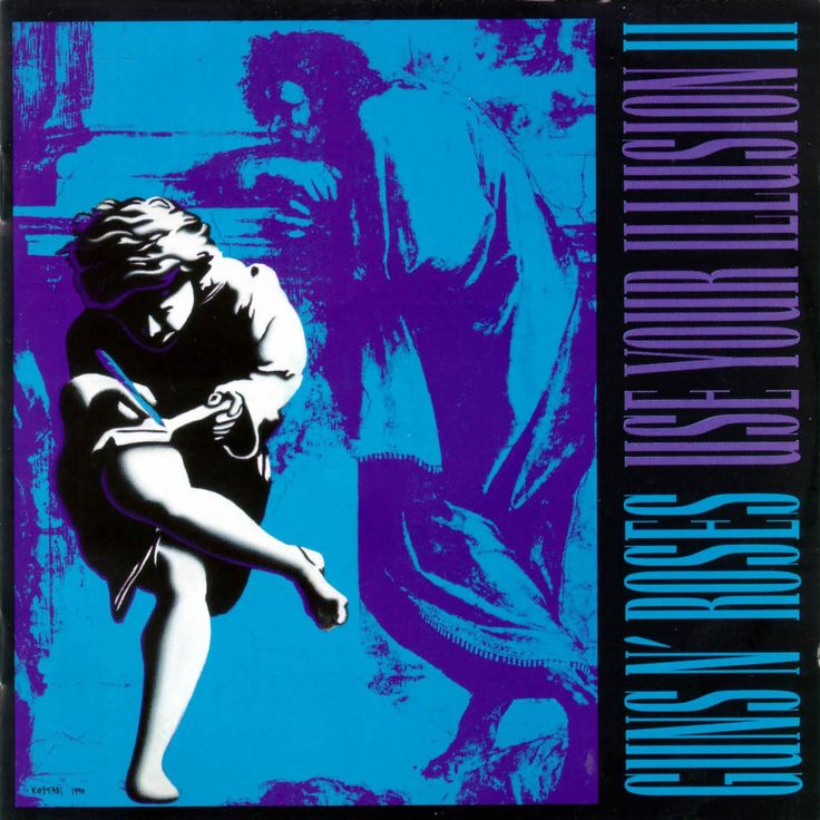 "guns and roses use your illusion 2 album cover (taken from raphael's ""school of athens"")"