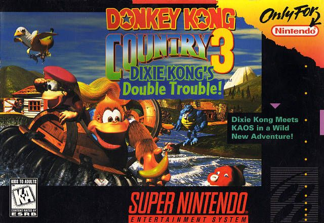 Donkey Kong Country 3: Bears 1080P, Double Troubled, Super Nintendo, Donkeys Kong, Dixie Kong, Character Theme, Snes Games, Kong Country, Kong Double