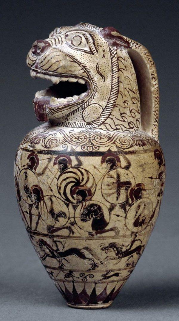 Etruscan pot c.700BC