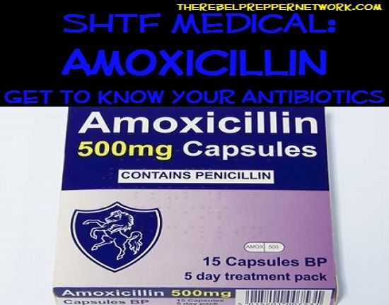 Entry #29 of the top 90 most important prepping articles will help explain that not all antibiotics treat the same ailments, knowing what works will help you save valuable medical supplies. SHTF Medical: Amoxicillin (Get to know your Antibiotic)