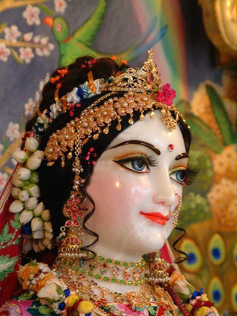 radha rani as the moon | Radharani, Hungary temple | Flickr - Photo Sharing!