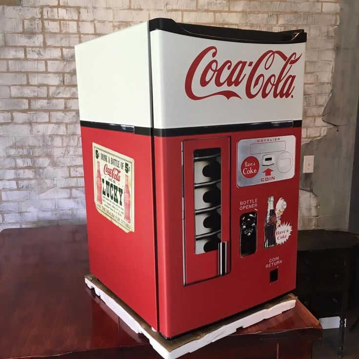 Coca Cola Vending Machine Mini Fridge Wrap  Every order is custom size to fit the product that your going to wrap. How to install a Mini fridge wrap video Mini