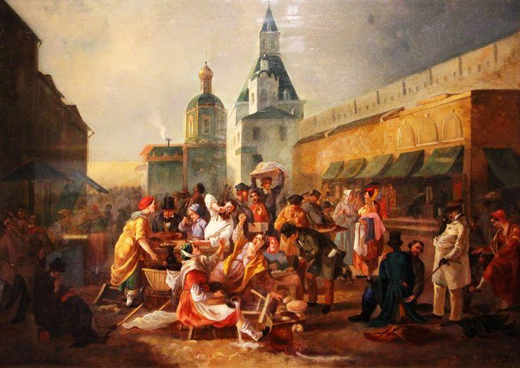 2 На выставке Москва Сквозь Века At the exhibition Moscow Through Centuries