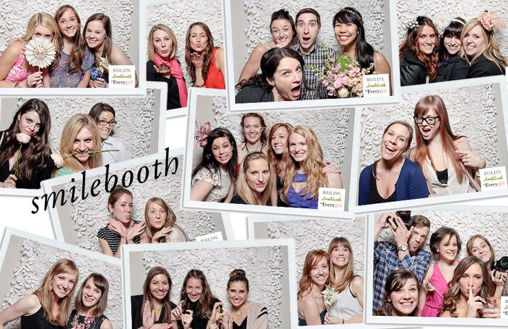 Having fun with Smilebooth at The Everygirl Event at BHLDN Chicago holding Hello Darling's blooms. LOVE!