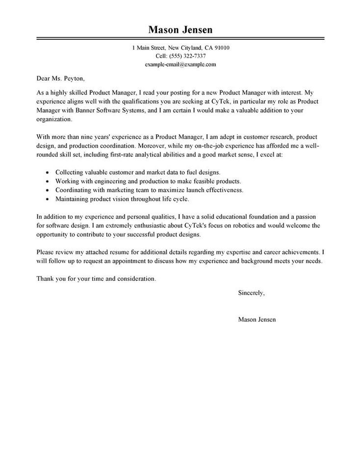 Cover letter software development manager. Sample Software Development Manager Cover Letter. Posted in Cover Letters. After graduating from Carnegie Mellon University with a degree in Software Development,