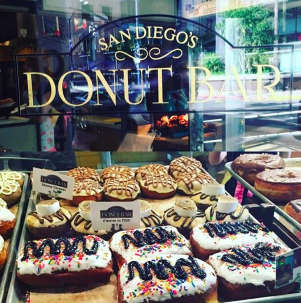 Youll Also Never Make Up Your Mind When Drooling Over Donut Bar Doughnuts