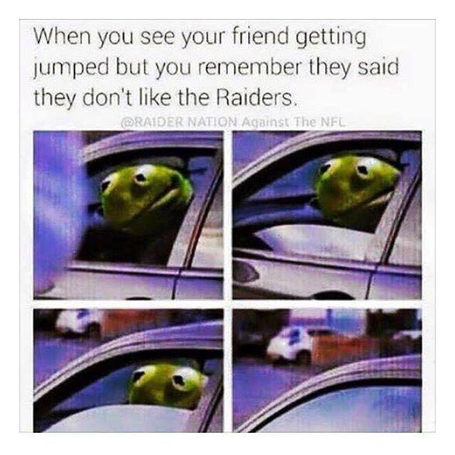 #lol #lmao #funny #comedy #hilarious #laugh #nochill #truth #rp #repost #oakland #raiders #oaklandraiders #blackhole #raidernation #raidergang #silverandblack #commitmenttoexcellence #bayarea #football #justwinbaby #skull #skullgang #ripal #rn4l