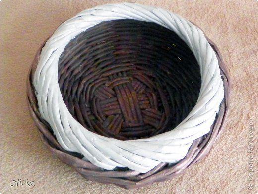 Мастер-класс Плетение Загибка Трубочки бумажные фото 14