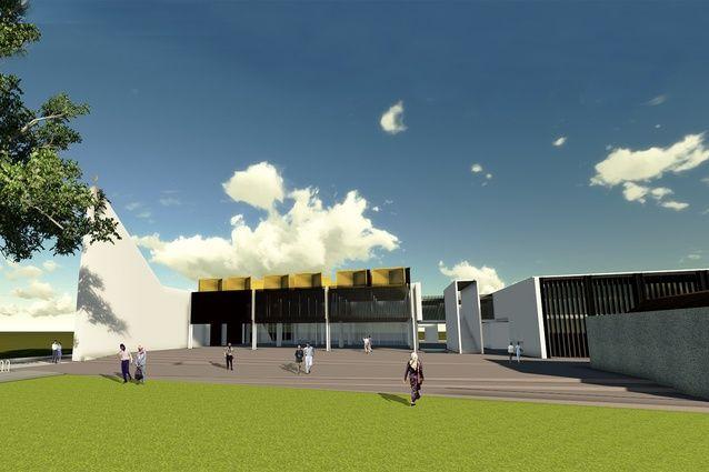 The Australian Islamic Centre by Glenn Murcutt and Elevli Plus Architects.