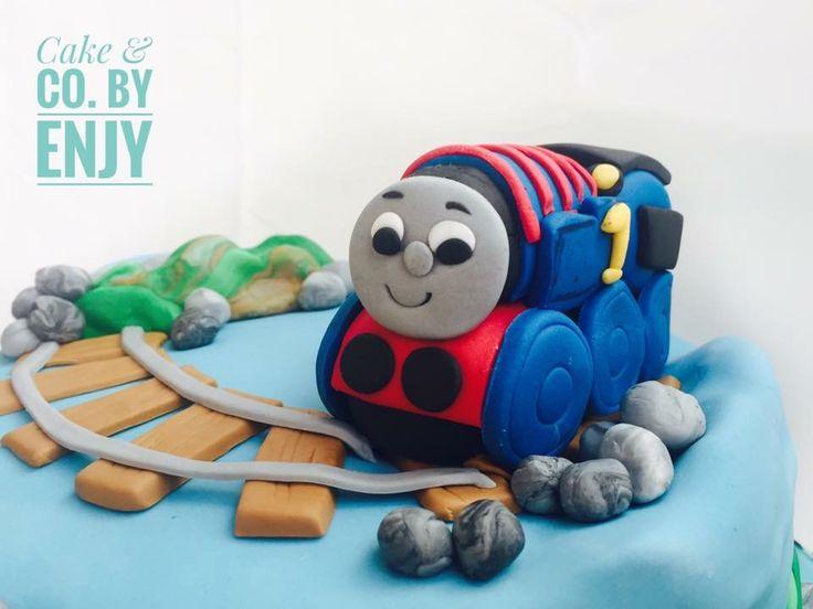 Thomas Train Cake Topper Www.facebook.com/cakeandco.byenjy/