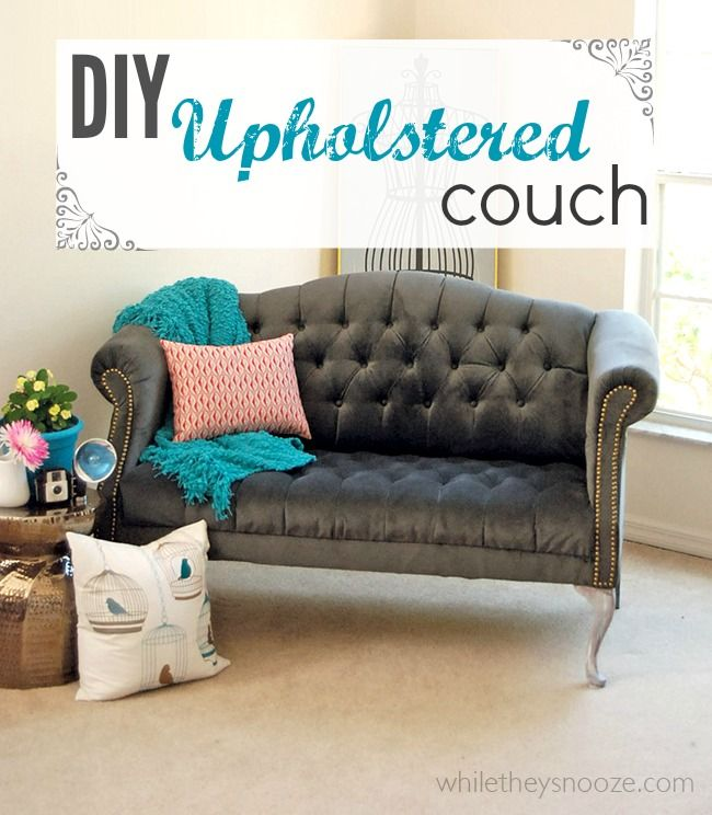 Best 25 tufted couch ideas on pinterest living room - How to reupholster a living room chair ...