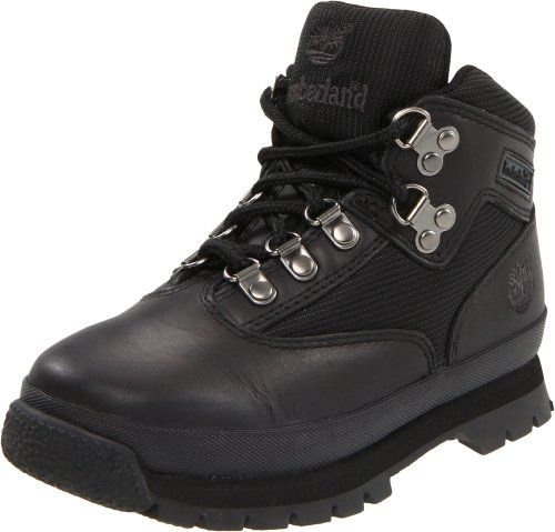 Timberland Euro Hiker Leather and Fabric Boot (Toddler/Little Kid/Big Kid),Black,9 M US Toddler Timberland http://www.amazon.com/dp/B0002RDY0O/ref=cm_sw_r_pi_dp_sxaJub0G1ZKB1
