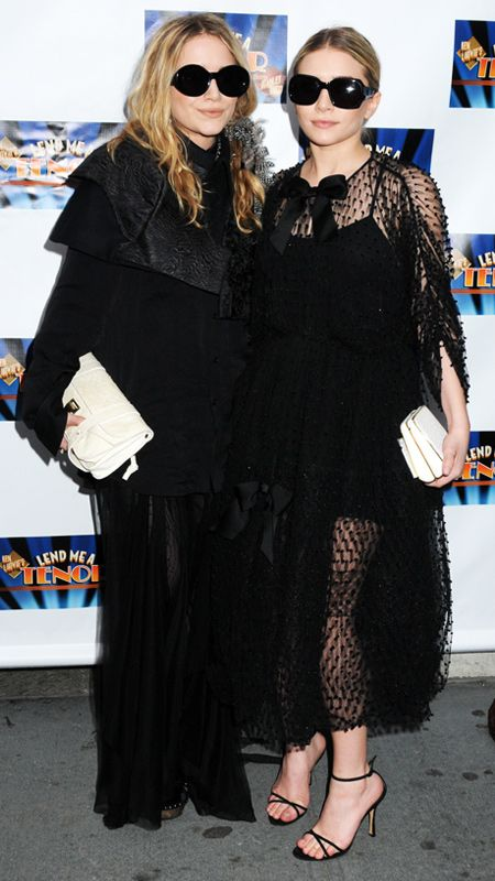 The Evolution of Mary-Kate and Ashley Olsen's Perfect Poses - April 4, 2010 from #InStyle