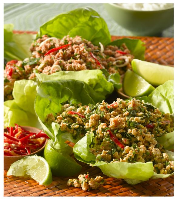 Chicken larb | Recipes - Chicken & Turkey | Pinterest