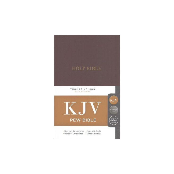 Holy Bible : King James Version, Burgundy, Red Letter Edition, Pew Bible (Hardcover)